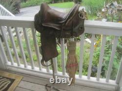 1900's Antique PLANTATION Style Horse Saddle Cowboy Western Decor