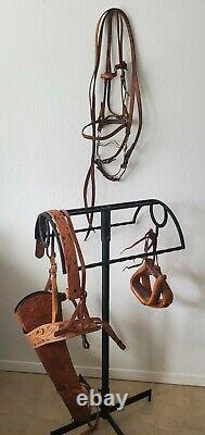 1951 Porter Yarnnel Stamped Western Roping Saddle withAccesories Original Catalog
