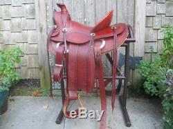 A. C. Byrne (Old Pueblo Saddle Co.) A Fork Roping Saddle