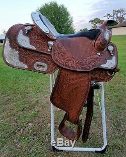 AUTOGRAPHED Dale Chavez 16.5 Western Pleasure Show Saddle