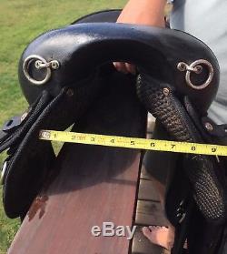Abetta Endurance Saddle 16 Inch Brown