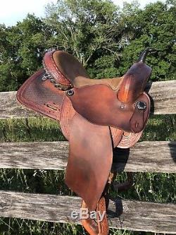 Alamo Limited Edition 2004 Barrel Saddle 14