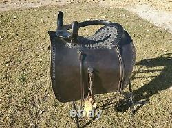 Antique Reconditioned Western Side Saddle