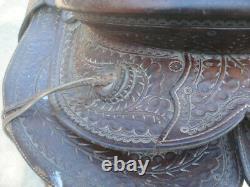 Antique Shipley Saddle Western Cowboy Saddle