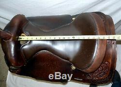 BIG HORN 17 Leather Western Saddle 1748