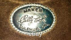 BILLY COOK WESTERN SADDLE, 16 Sulphur, Oklahoma