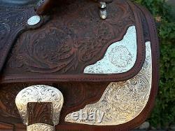 Beautiful 15 Circle Y Western Equitation Show Saddle AMAZING (pt)