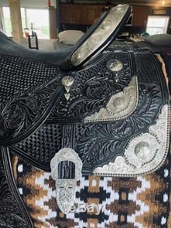 Beautiful 17 Dale Chavez Western Show Saddle