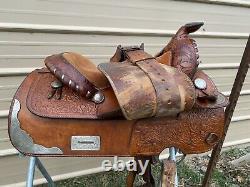 Beautiful Used/vintage Simco15 Western trail /pleasure /show saddle VGC US made