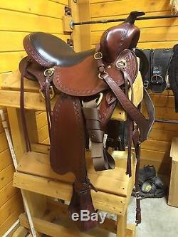 Big Horn Gaited Trail Saddle, 16, Barely Used, Price Reduced