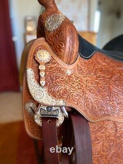 Big Horn Western Pleasure Show Saddle