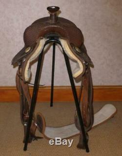 Bighorn 246 Western Saddle With Stirrups And Tuffy's Girth 16 Seat