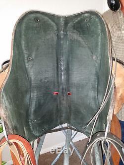 Bill Huston Custom Soft Saddle Western Treeless Endurance Pleasure Leather