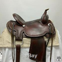 Billy Cook 16 Western Saddle PACKAGE