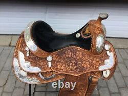 Billy Cook #6020 17 Western Show Saddle