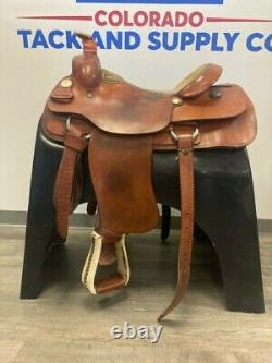 Billy Cook All-Around Western Saddle 16