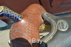Billy Cook Barrel Racer western saddle