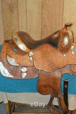 Billy Cook Classic Western Show Saddle 14 inch seat Youth or Adult