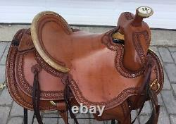 Billy Cook High Country Rancher #2174 16 Western Saddle