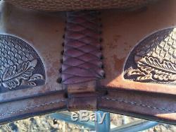 Billy Cook Millenium Reiner Saddle, 16 FQHB