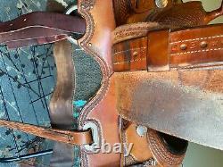 Billy Cook Pro Reiner Western Saddle, 16 Seat, Fqh Bars