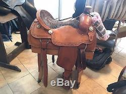 Billy Cook Saddle 16 5 Inch + Breast Collar + Back Cinch