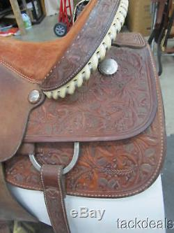 Billy Cook TX Matt Tyler Roping Saddle 15 Used Solid & Great Condition