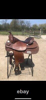 Billy Cook Western Saddle 16
