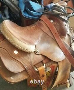 Billy Cook Western Saddle, 16