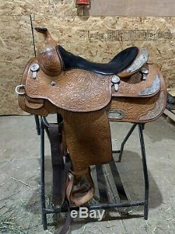 Billy Cook Western Show Saddle 15.5 Seat