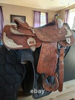 Billy Cook Western Show Saddle 16 in