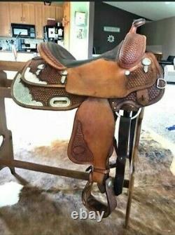 Billy Cook Western Show Saddle Pleasure Trail Parade Leather Horse Back Riding