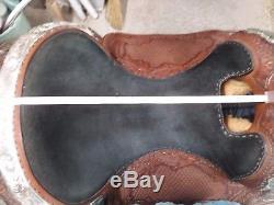Billy Royal Vintage Mahogany Dark Oil Show Saddle 16 Free Shipping