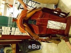 Billy cook custom western show saddle