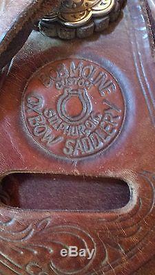 Bob Moline Reining Saddle 16 1 2 Free Shipping
