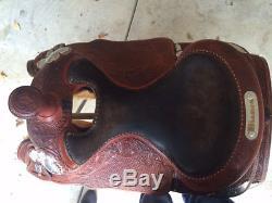 Bob's Custom Reining Show Saddle