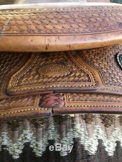 Bobs Custom Western Saddle Randy Paul Reiner 16