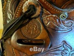 Bona Allen FAB western pleasure/ trail saddle pkg. 15 seat