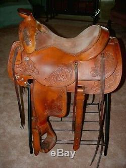 Broken Horn Western Saddle