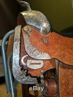 Broken Horn Western Show Saddle