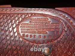 CIRCLE Y 16 TOOLED Silver Western Show SaddleResistance Free Richard Shrake