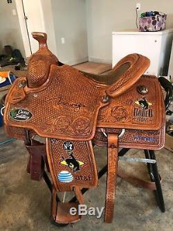 Cactus Saddlery All Around NFR Trophy Saddle. Never Used