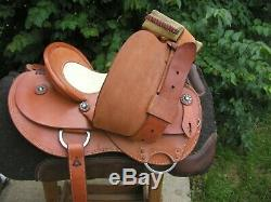 Charles Crawley or Double C Wade Ranch Trail Western Saddle