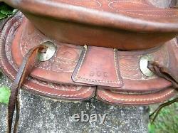 Childs western saddle