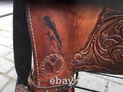 Circle Y 15 Equitation Pleasure Western Saddle