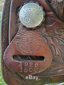 Circle Y 15 Western Saddle Equation Show Trail Silver Pleasure