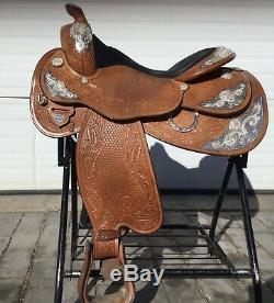 Circle Y 16 Crystal Western Show Saddle