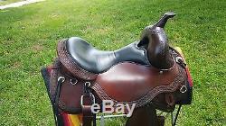 Used Circle Y Just B Natural Barrel Saddle