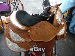 Circle Y 16 western show saddle Equitation