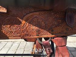 Circle Y Equitation 16 Western Show Saddle